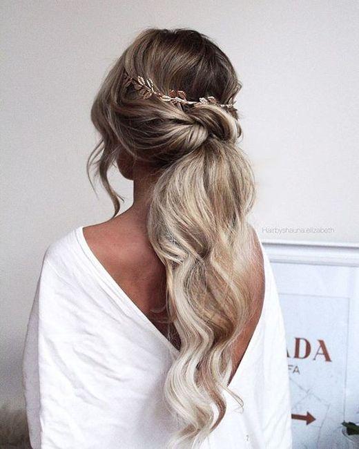 Peinados para novias que no quieren velo 7