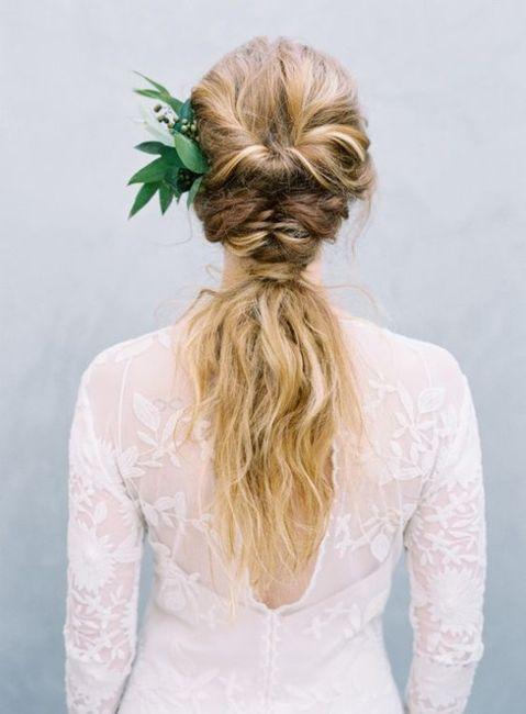 Peinados para novias que no quieren velo 8