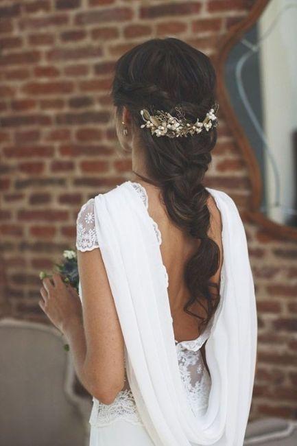 Peinados para novias que no quieren velo 10