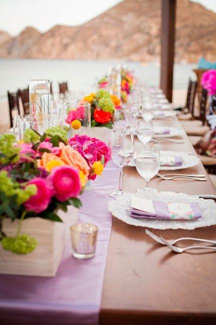 Ideas para una boda estilo Mexicano 1