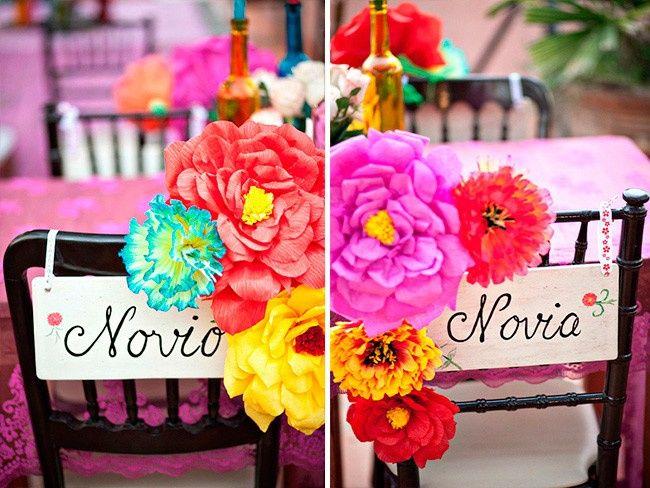 Ideas para una boda estilo Mexicano 7