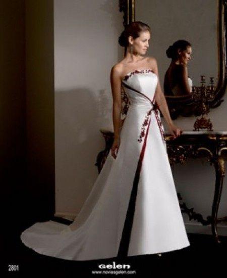 boda rojo y blanco..