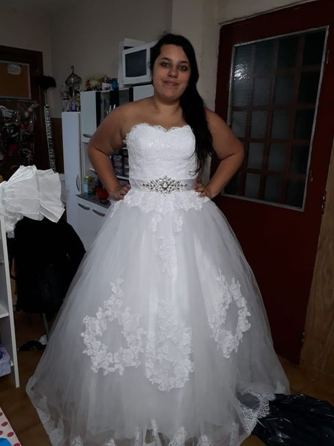 Vestidos para novias con kilitos extras 👰 12