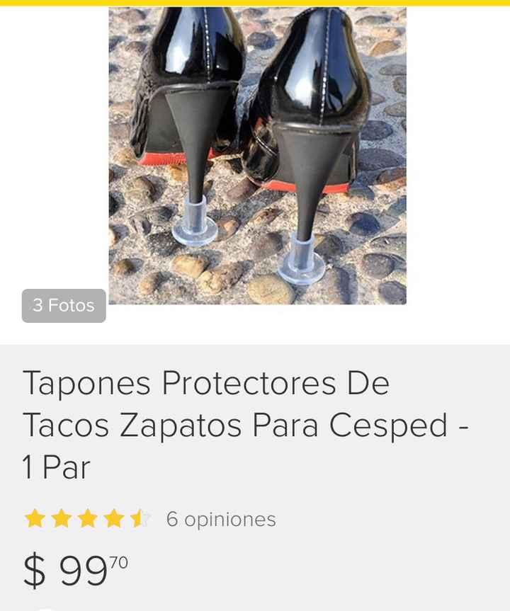 Tapones protectores de tacos - 1
