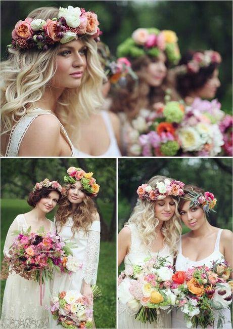 Quiero una boda boho chic romántica !!! 1