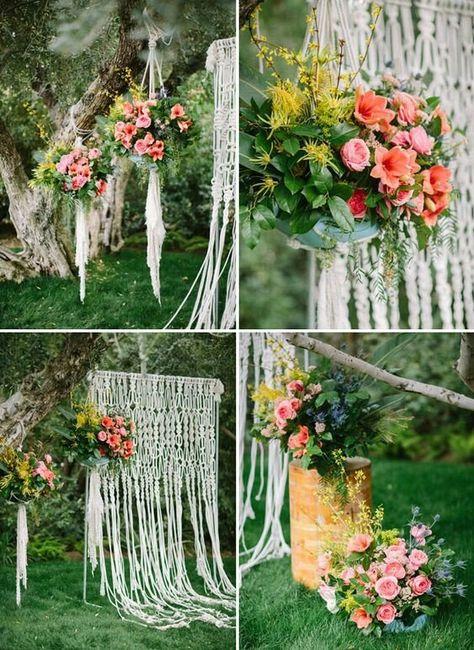 Quiero una boda boho chic romántica !!! 3