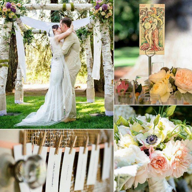 Quiero una boda boho chic romántica !!! 5