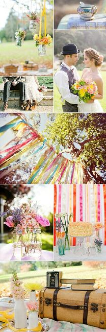 Quiero una boda boho chic romántica !!! 8