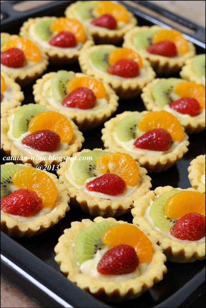 minis tartitas frutales
