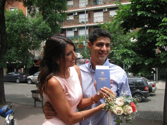 Mi casamiento Civil 💗 8
