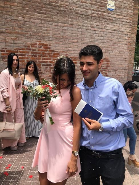 Mi casamiento Civil 💗 12