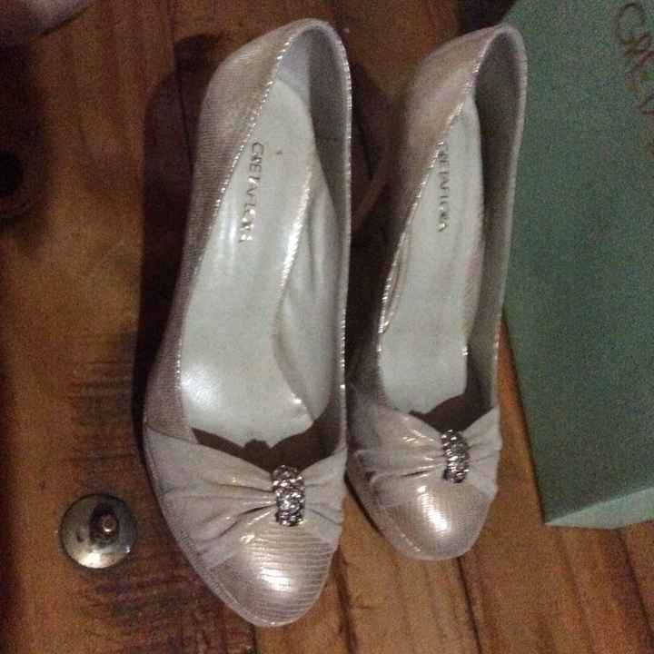 Zapatos para casamiento nuevos en venta - 3