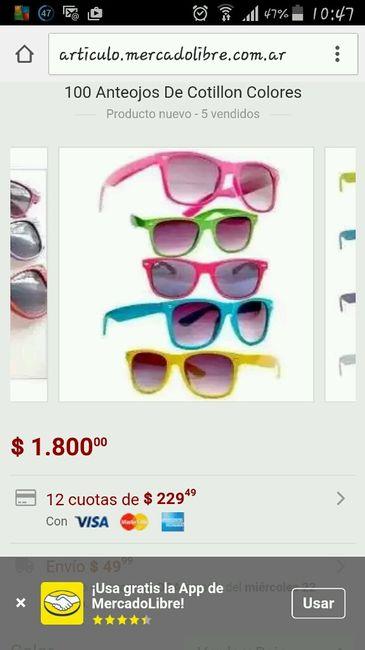 7b6642aa54 Dónde comprar lentes de sol para cotillón?