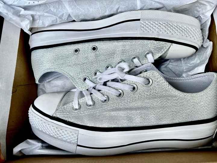 Zapatillas y no zapatos! - 1