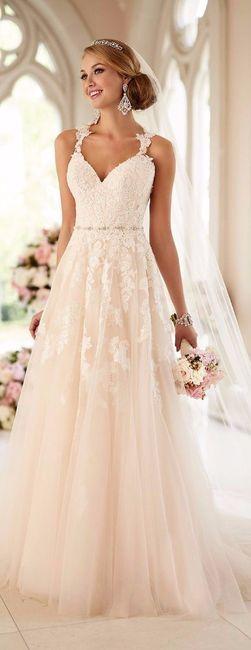 mi vestido de novia soñado
