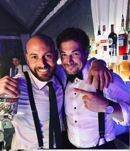 Giacomo Gianniotti & Nichole Gustafson 17