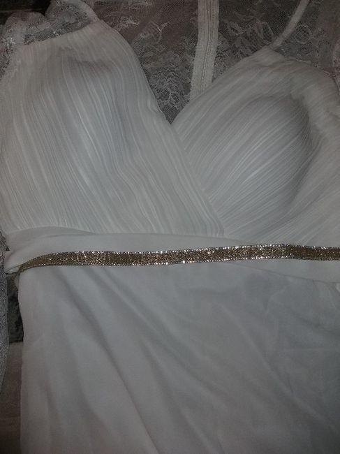Llegó mi Vestido de Ali Express 1