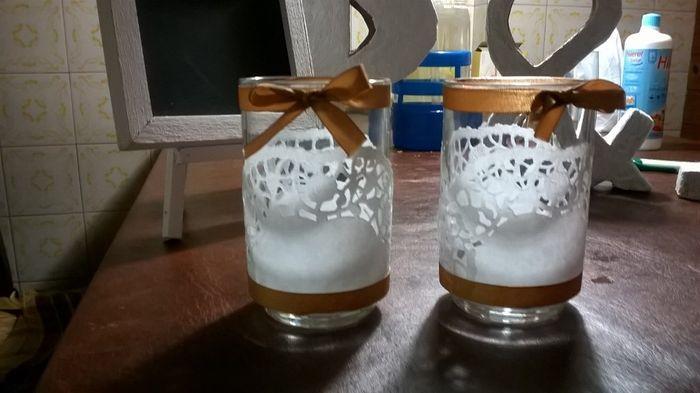 Porta velas para decorar la mesa fotos for Velas para decorar mesas