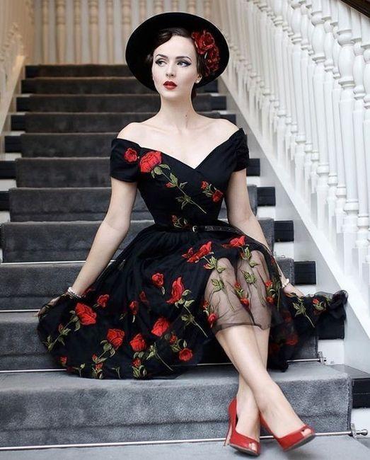 Mi vestido sera negro 💎 - 1