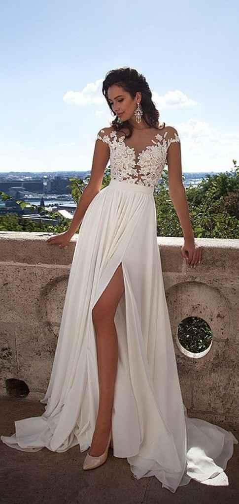 Si hoy me casara lo haría con... ¡Este vestido! - 1