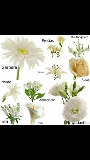 opciones de flores para centro de mesa