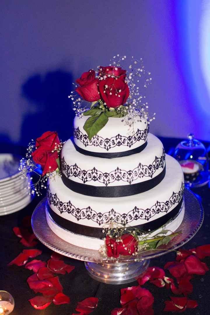 Nuestra torta de boda!!