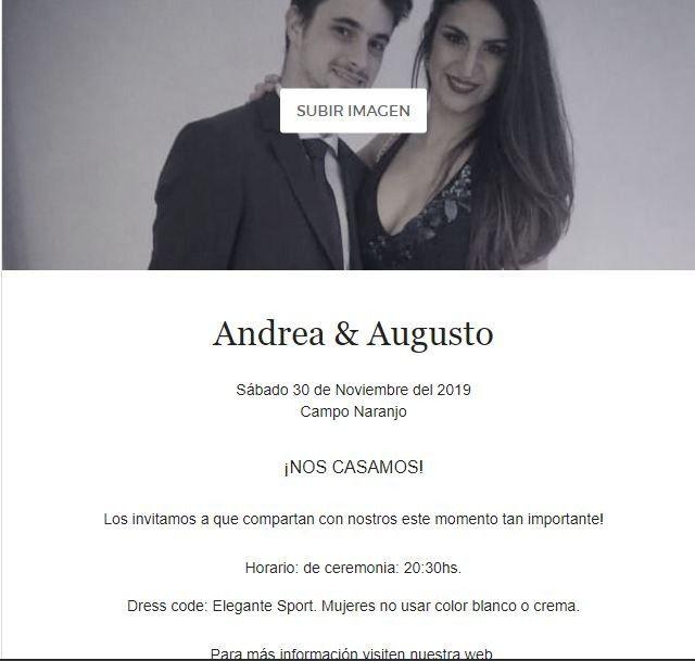 Cómo crear tus invitaciones de Casamiento online 💌. (Paso a Paso) 5