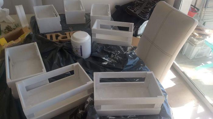 A 3 días, Centros de mesas y porta alianzas DIY listos! 2