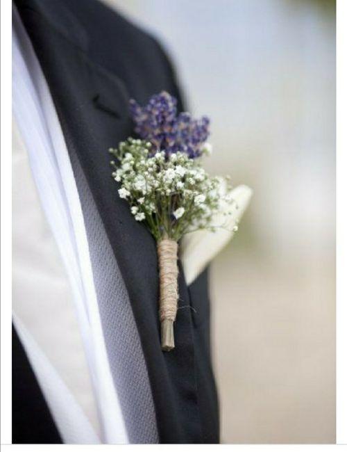 ¿Sí o no a un toque de lavanda en tu ramo de novia? 4