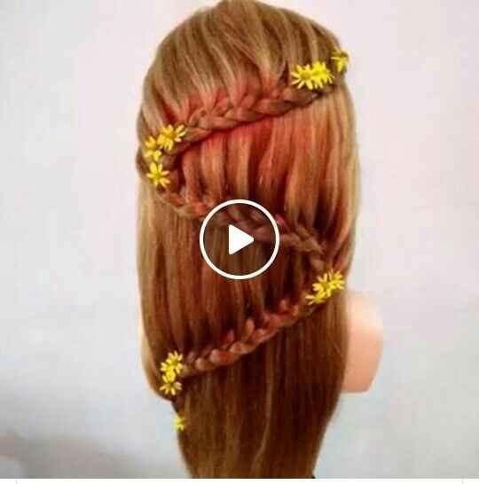 Peinados con pelo suelto - 1