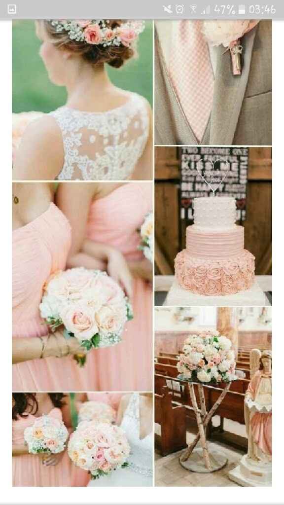 Paleta de colores para decoracion de boda - 3