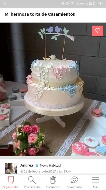 Nuestro Cake Topper personalizado - 2
