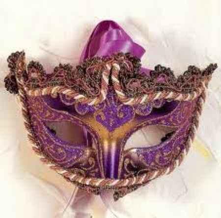 Mascara para carnaval carioca