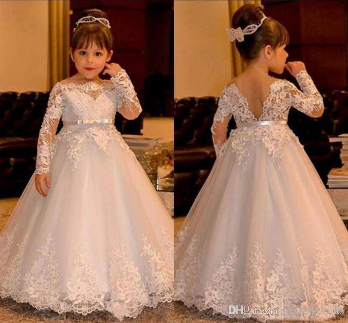El vestido de las hijitas de las novias: ¿similar al de la Novia o Distinto? 1