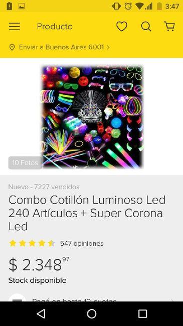 Hacer o comprar cotillon ? 6