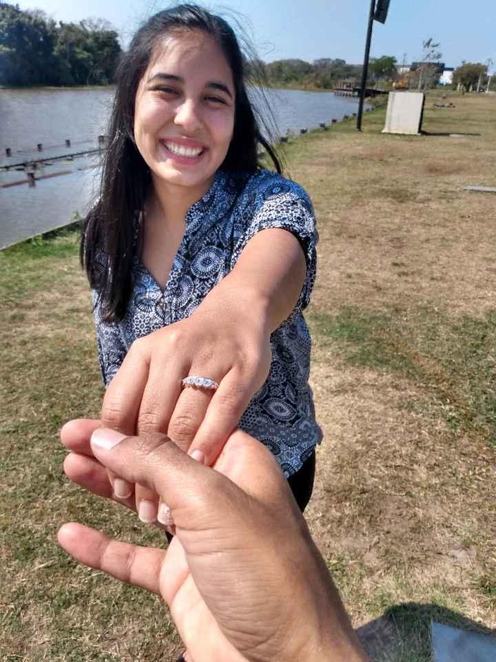 Me propuso casamiento el___ - 2