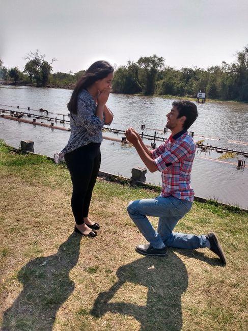 Me propuso casamiento el___ - 1