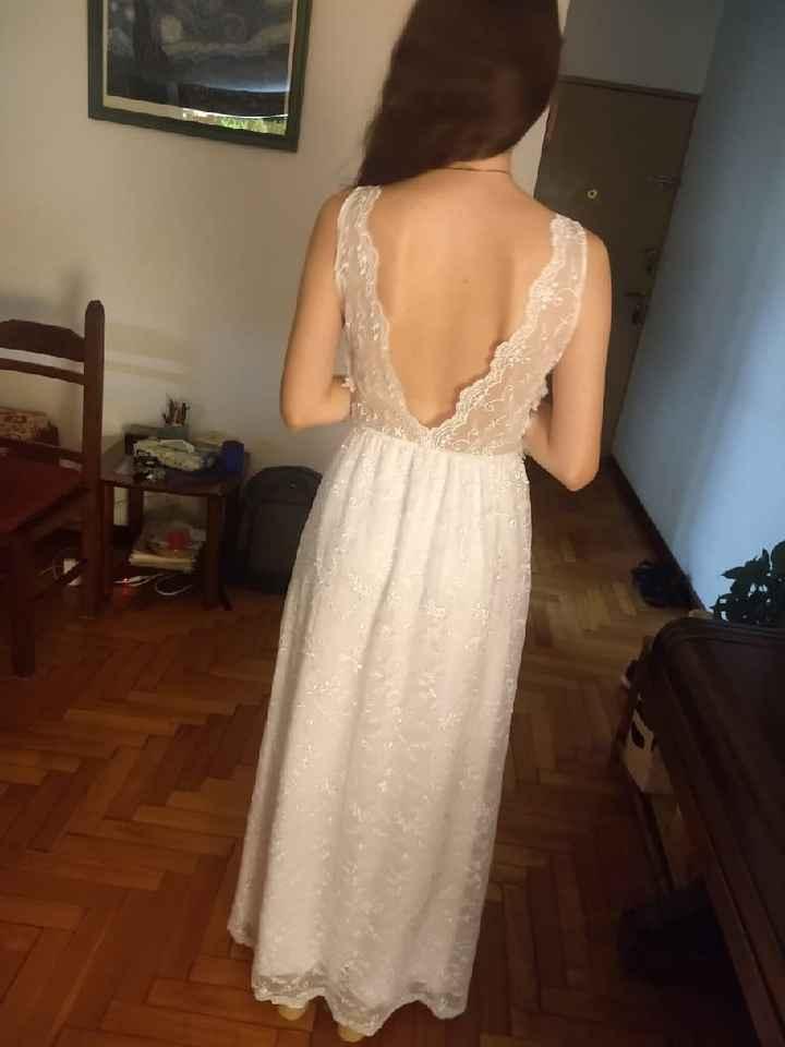 Mi vestido de novia! - 1