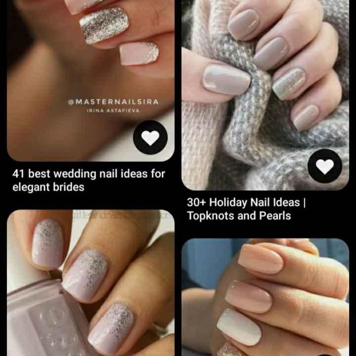 ¿Nail art para novias? Sumá tu diseño - 1