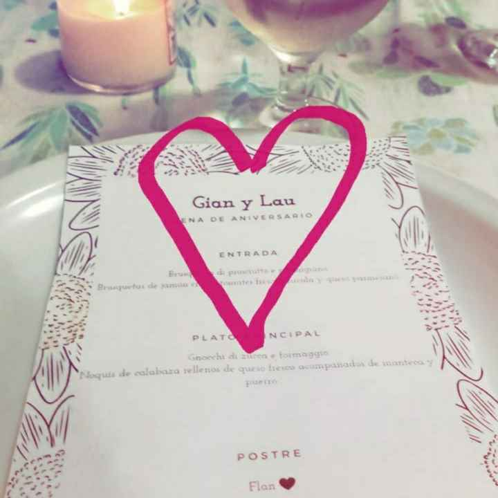 Cena de aniversario! 3 años juntos 🖤 - 5