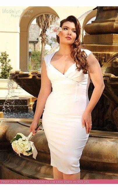 Vestidos de novia xl civil