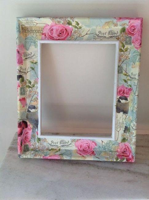Especial marcos - Manualidades decorar marcos para cuadros ...