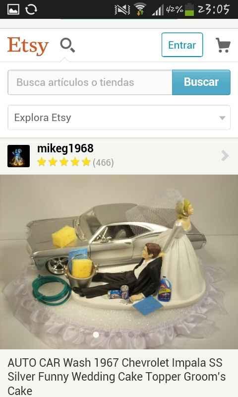 Adorno de torta - 1