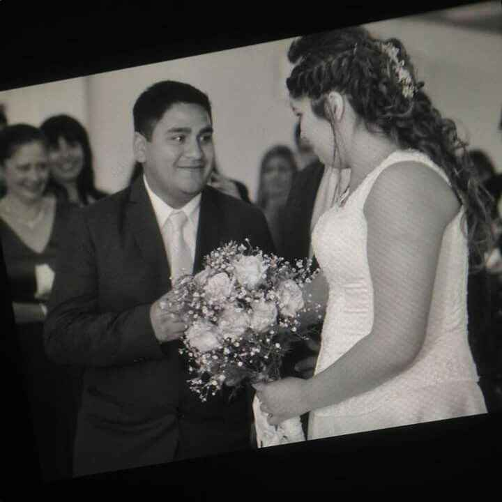 Nuestro casamiento! parte 2 - 1