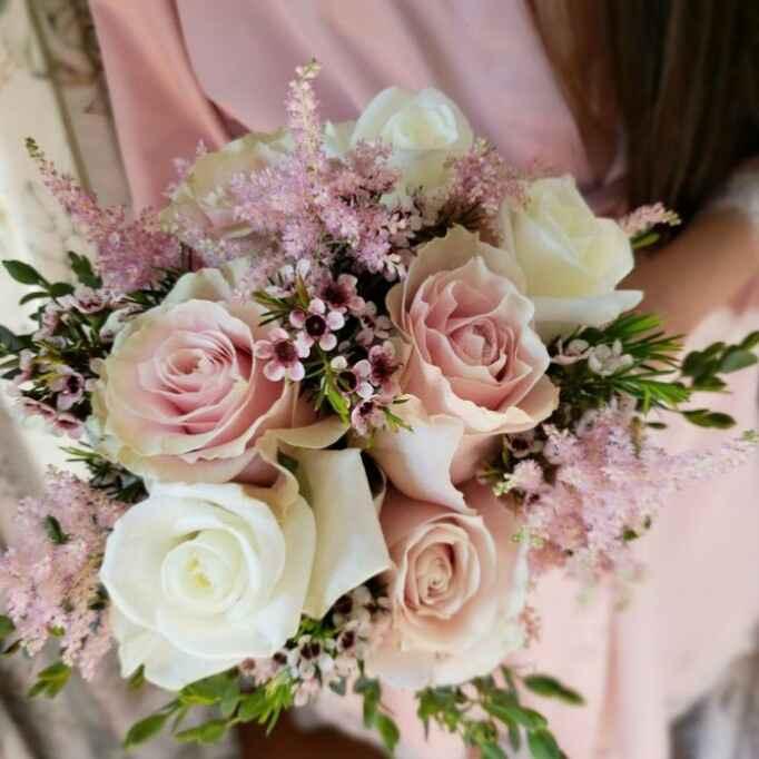 ramos de novia en color rosa ❤ - 1