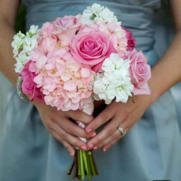 ramos de novia en color rosa ❤ - 2