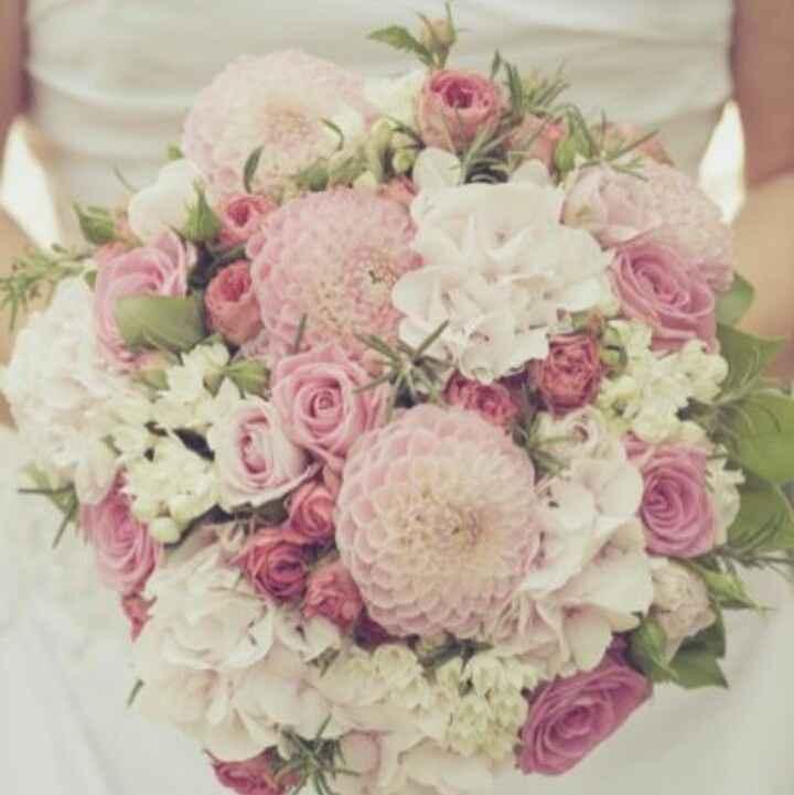 ramos de novia en color rosa ❤ - 3