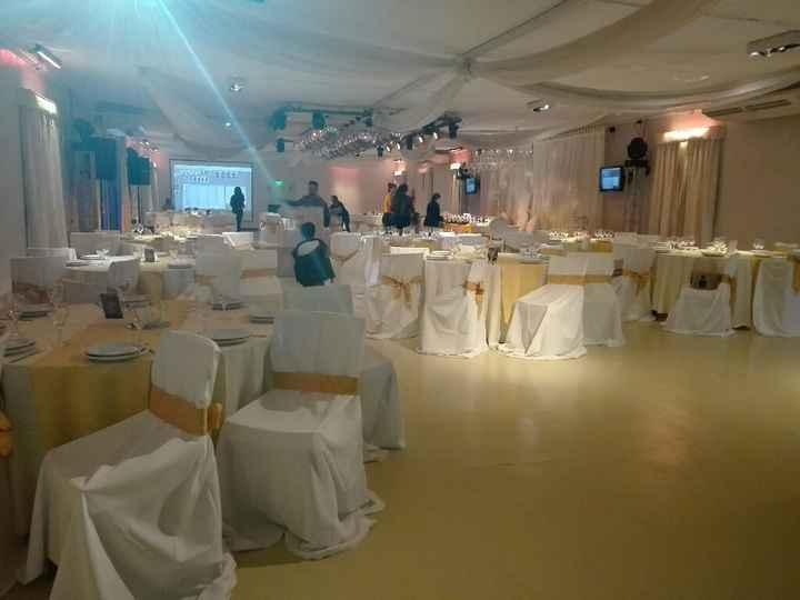 Florencia, lo mejor de mi casamiento es el festejo ❤ - 4