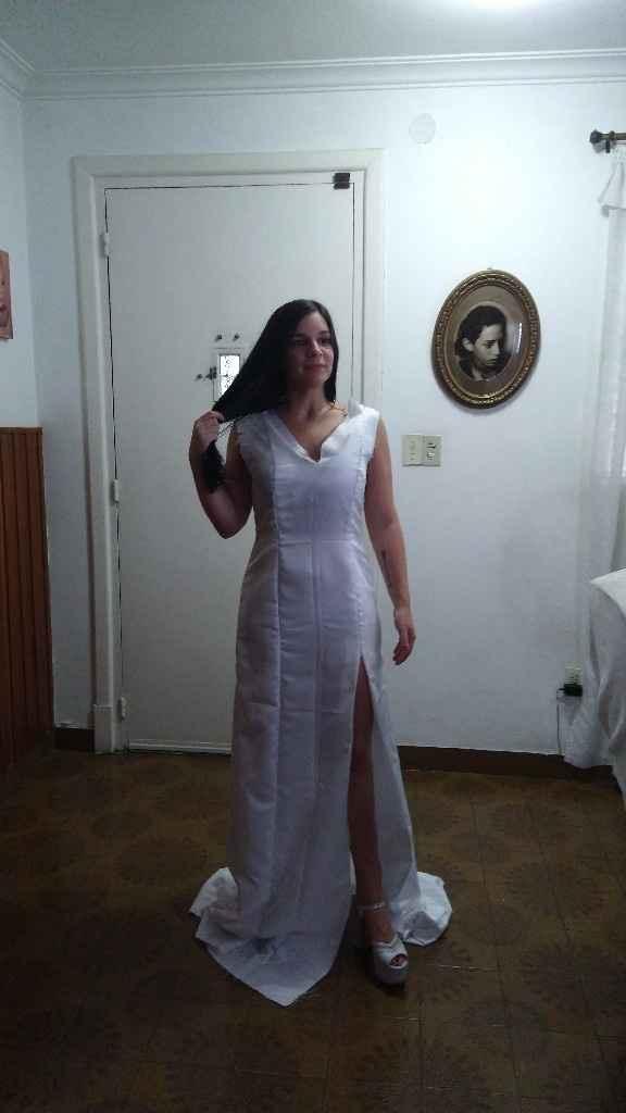 Primera y segunda prueba de vestido ♥️💃🏻 - 1