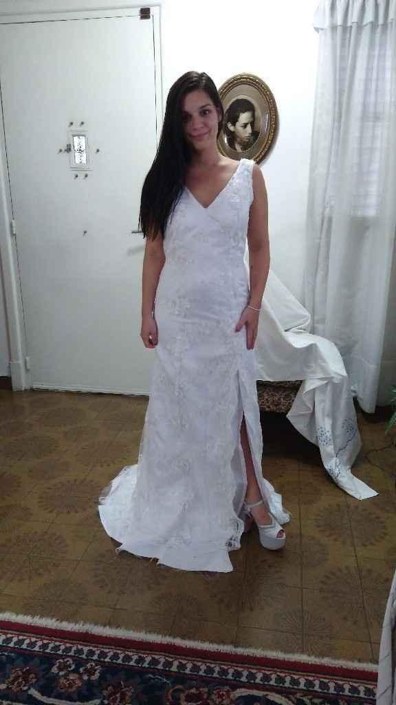 Primera y segunda prueba de vestido ♥️💃🏻 - 3
